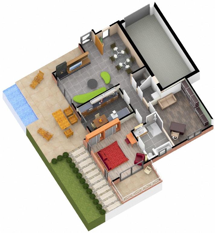 Carrelage intérieur et extérieur habitation