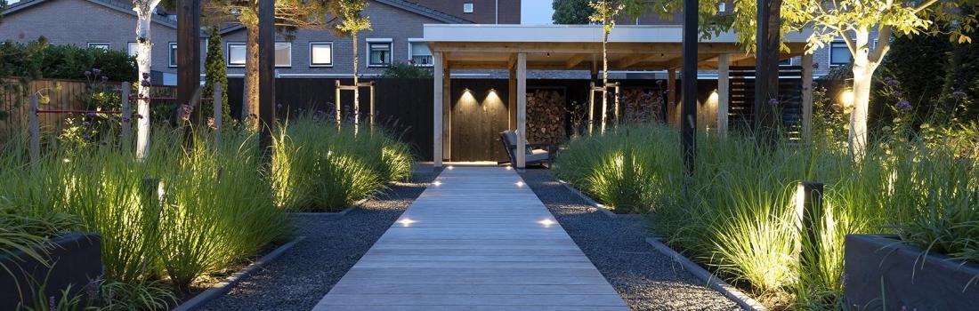 in-lite, éclairage extérieur pour terrasses et jardins