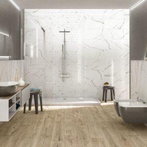 Carrelages pour salle de bain, wc, douche, douche à l'italienne