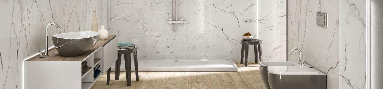 Carrelages pour salle de bain, wc, douche, douche à l'italienne - Belgique
