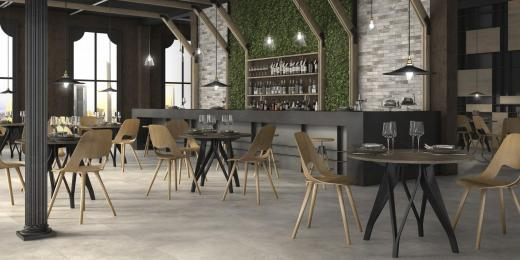 Carrelages pour restaurants, hôtels, bars - Belgique
