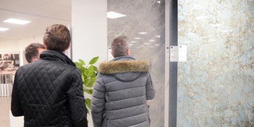 Conseil et accompagnement dans le choix du carrelage avec plan en 3D - Belgique