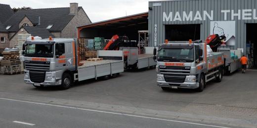Livraison de carrelage à domicile ou sur chantier - Belgique