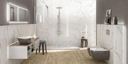 Tegels voor badkamer, wc, douche, inloopdouche - België