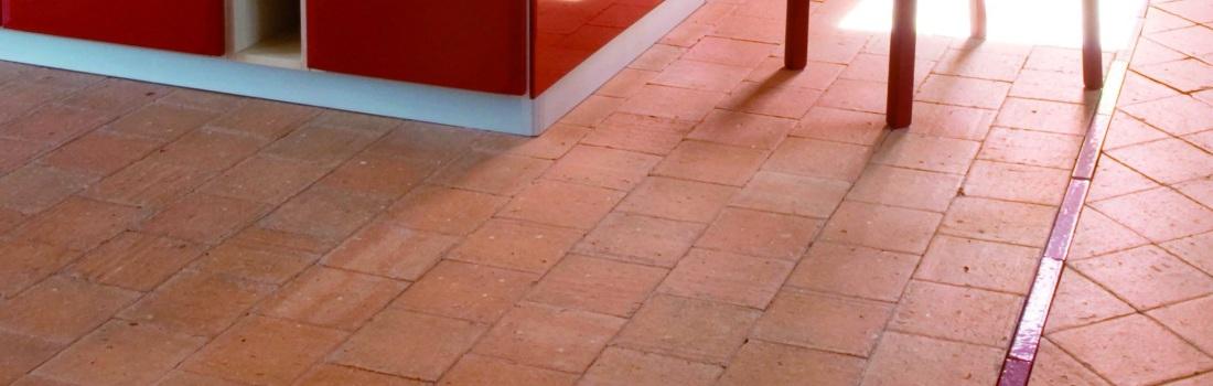 Terracotta tegels - België
