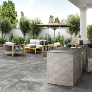 Tegels en plavuizen voor terrassen, pergola's, balkons