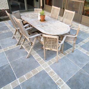 Tegels en natuursteenproducten: zandsteen, leisteen, kalksteen, graniet...