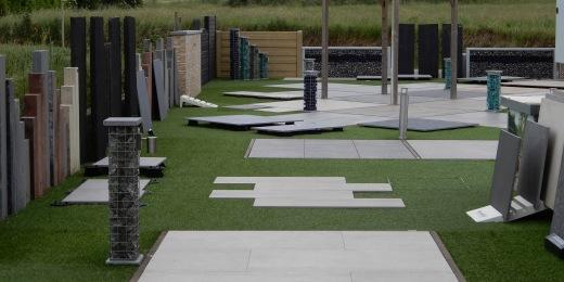 Showrooms tegels - outdoor parken